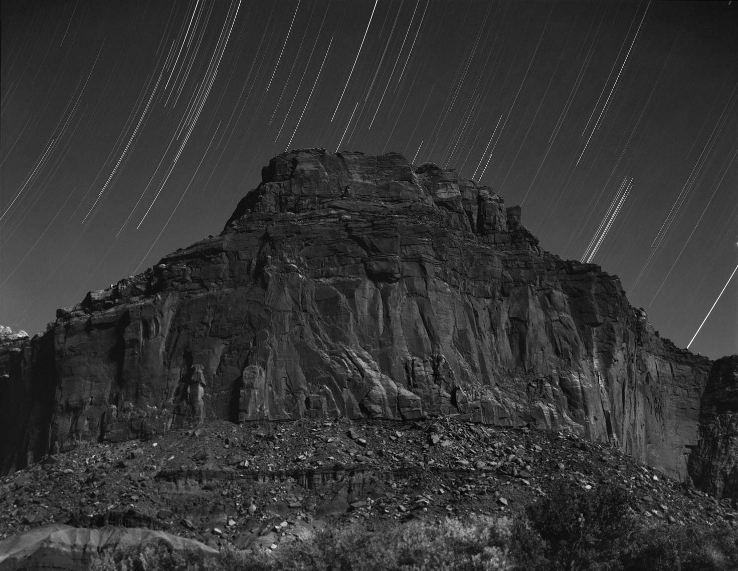 ZION AT NIGH